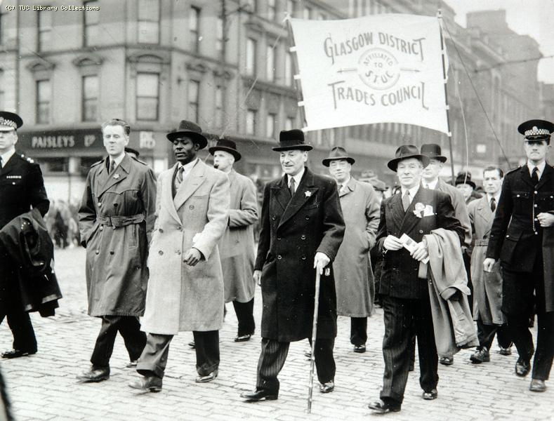 May Day March - Glasgow, 1946