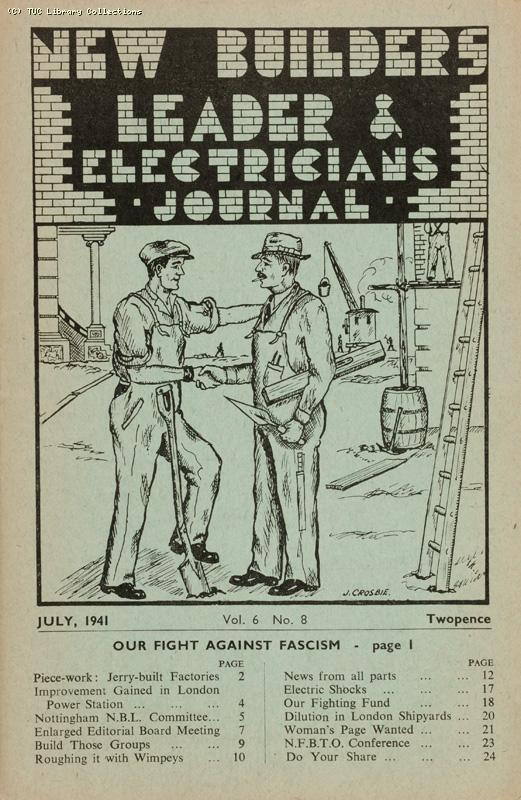 New Builders Leader and Electricians Journal, 1941