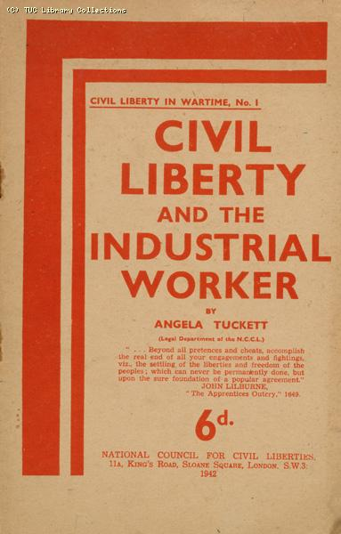 'Civil Liberty and the Industrial Worker', 1942