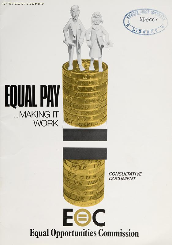 'Equal pay, making it work', 1989