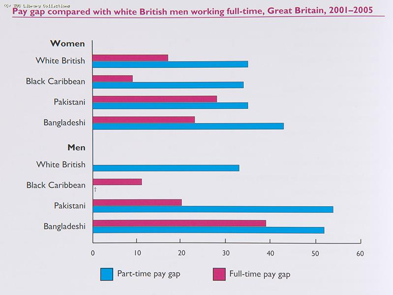 Pay gaps : the position of ethnic minority women and men, 2007