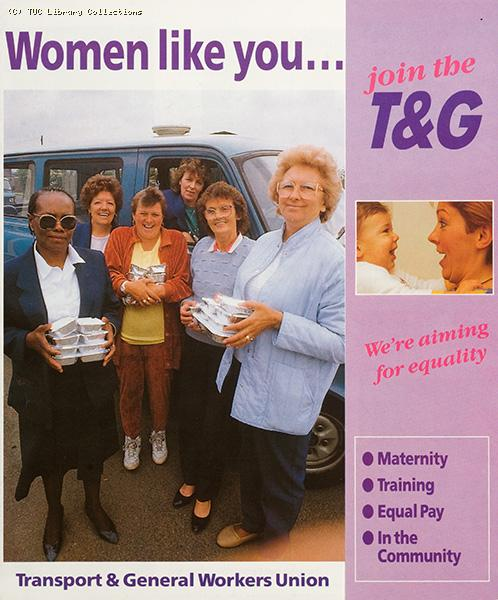 Women like you...join the T&G, 1990