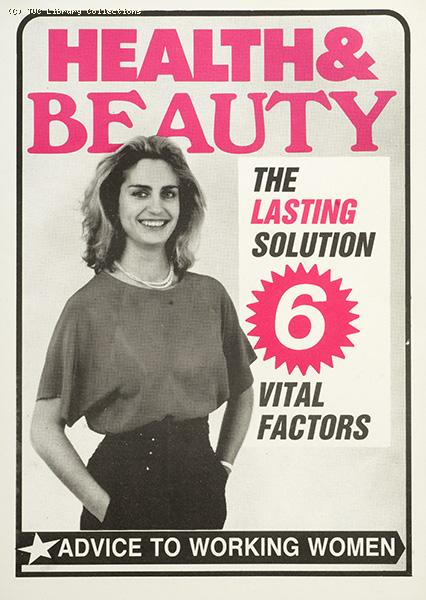Health and beauty - the lasting solution, 1987
