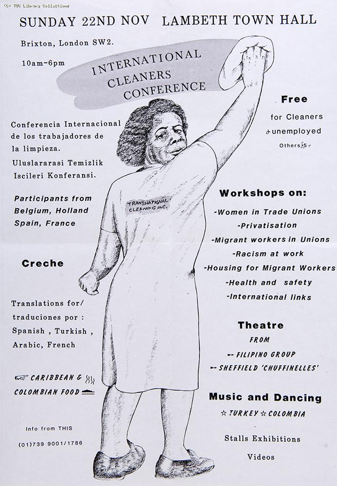 International Cleaners Conference, 1987