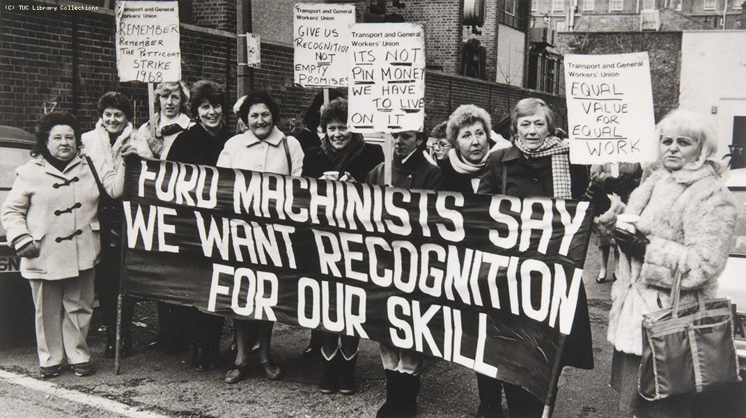 Ford sewing machinists' strike, 1984