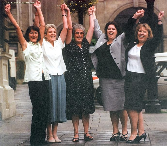 Equal pay in Cleveland School Meals Service, 1996