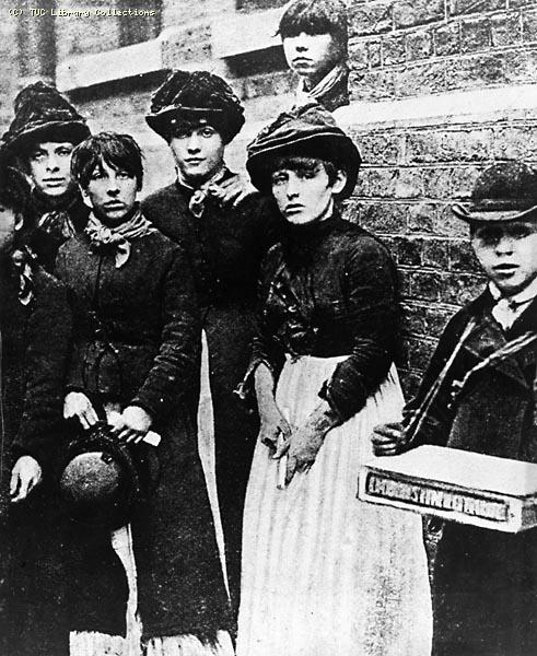 Match Workers at the Bryant and May Factory, London, 1888