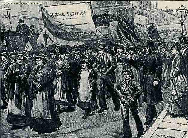 Procession of Match Workers to Westminster, July 1888