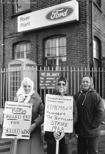 Ford sewing machinists� strike, 1984