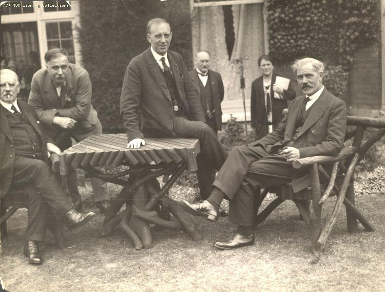 AJ Cook and j Ramsay MacDonald, 1926